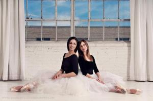 Dallas Neo-Classical Ballet Co-Founders Victoria Dolph (left) and Emilie Skinner (right)