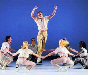 Paul Taylor Dance Company in Company B. Photo: Rex C. Curry