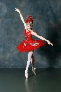BET company member Breanne Granlund as the Firebird. Photo: Cathy Vanover